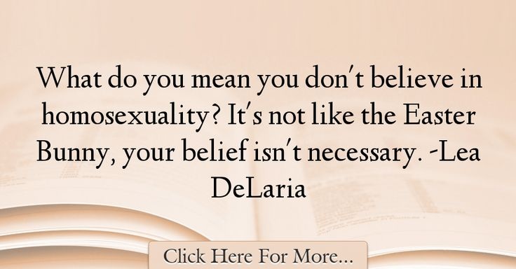 Lea DeLaria Quotes About Easter - 75736