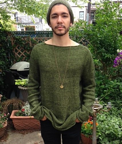 Ravelry: kcdanceknit's Husband's comfy sweater