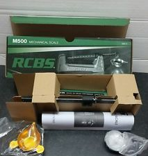 RCBS Model M500 Mechanical Reloading Scale-(98915)-NIB