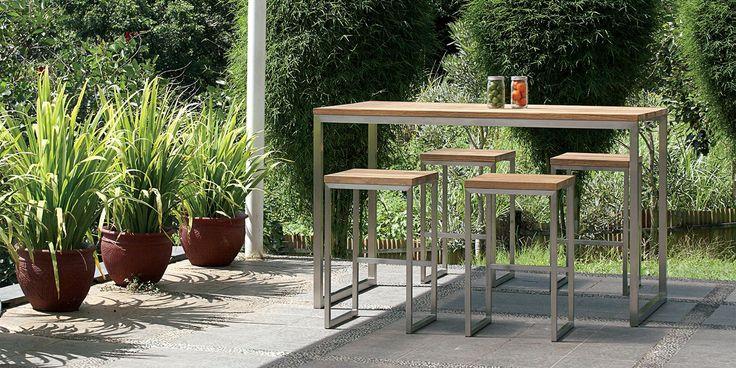 OKO High Stool and Bar Table