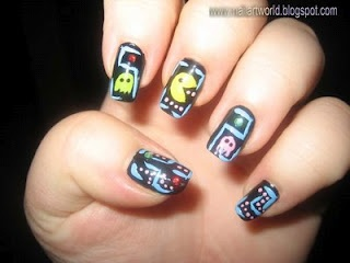 pac man paint