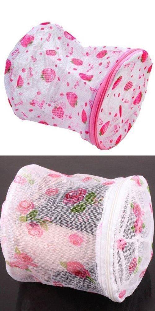 Bra Washing Laundry Bag Underwear Sock Wash Basket Automatic Machine Clothes Storage Random Pattern