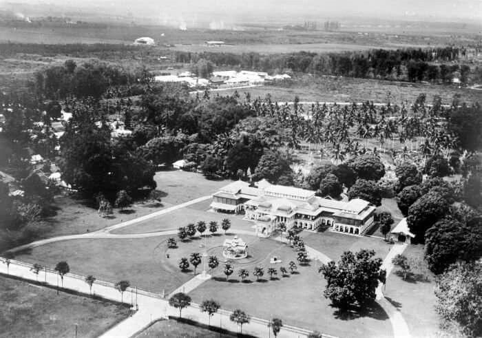 1931 Istana Maimun, Medan. Sumatra.