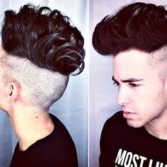 Barber Haircut Styles - Undercut with Quiff