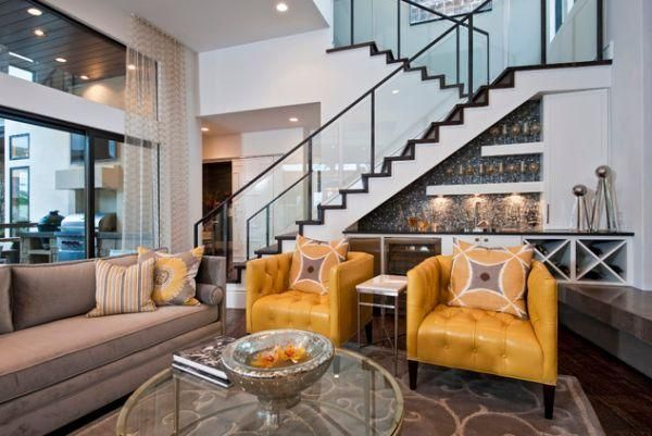Szafka Na Wino Stairs In Living Room Stairs Design Prairie Style Houses