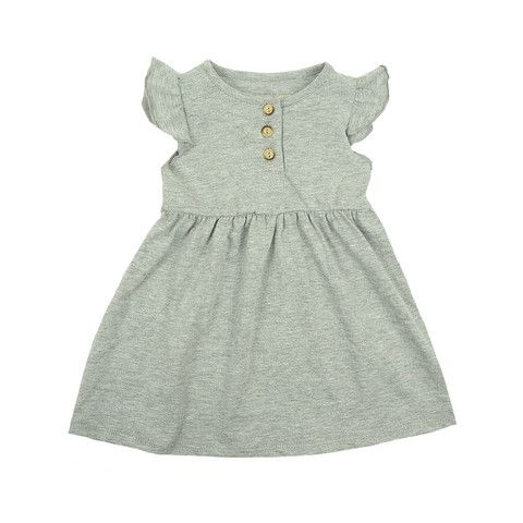 Fresh Dress - mini mioche - organic infant clothing and kids clothes - made in Canada