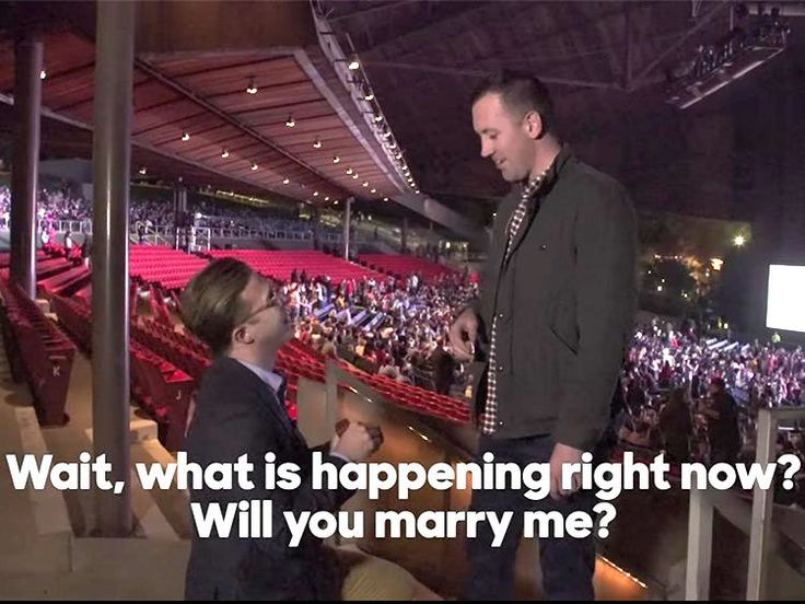 Gay Couple Pops the Question at Hillary Clinton Rally