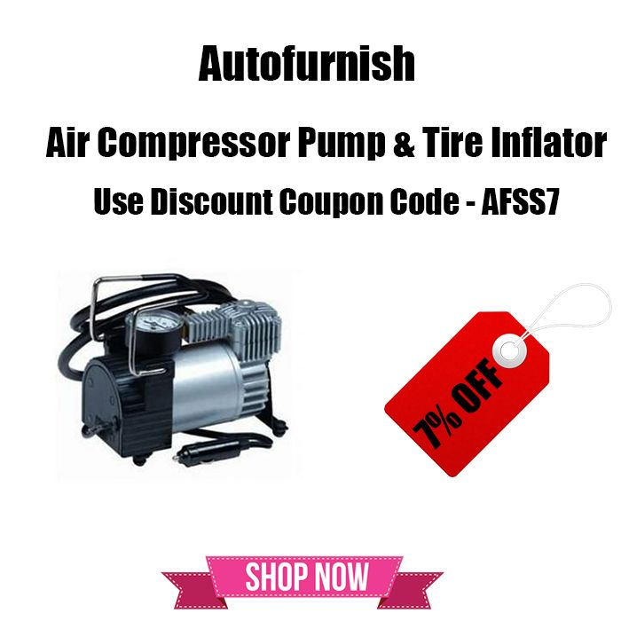 The Great #Summer #Automotive #Sale Get 7% OFF on Air #Compressor #Pump & #Tyre #Inflator! #Autofurnish Summer Sale Shop Now @ http://bit.ly/1VKQIGK