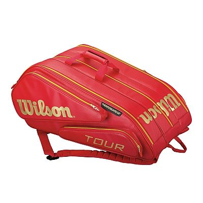 Borsa da Tennis Wilson Tour Williams x 15 - Red
