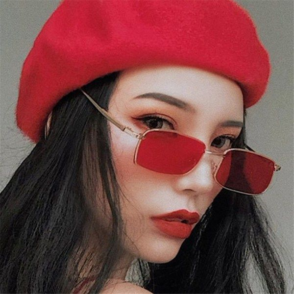 ed349270c9 camcorners.com 2018 New Fashion Women Flat Sunglasses Luxury Brand Designer  Sun glasses Eyewear Candy Color Mirror UV400 oculos de sol  skincare   suncare   ...