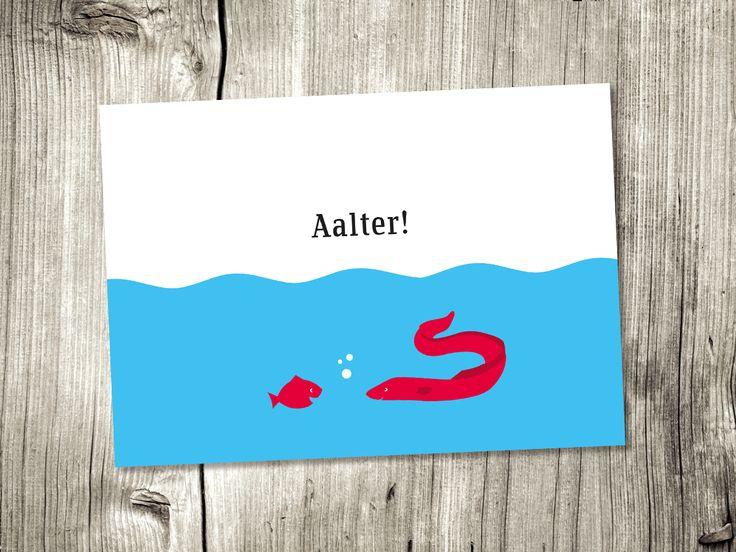 Eine von vielen wunderbaren Küstenpost Karten.  www.chatlab.de