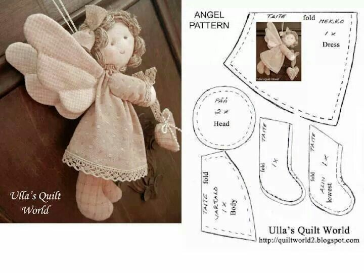 Angel doll pattern