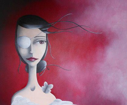 L'Image Innée... (2012) Acrylique sur toile, S.Renault