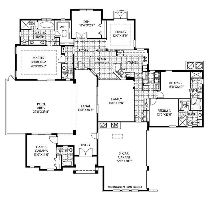 84 best House plans images on Pinterest | Home plans, House floor ...