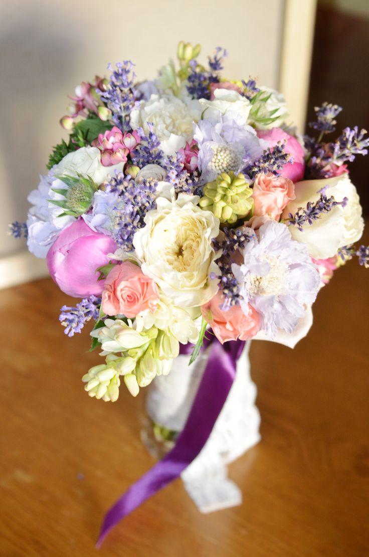 A special wedding needs a special bridal bouquet.