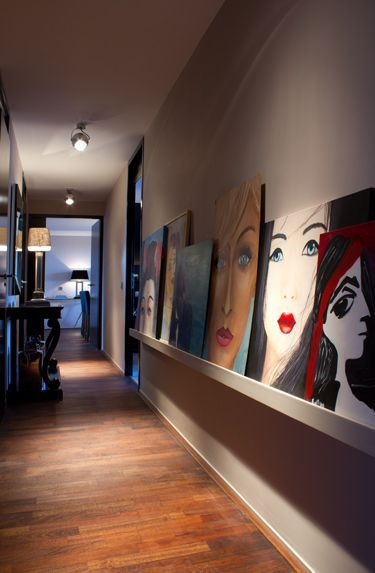 √ 37 Amazing Hallway Ideas To Revitalize Your Home | 诊所设计 | Art Studio At  Home, Home Art, Art