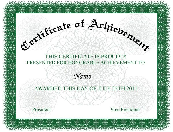 The 25+ best Certificate of achievement template ideas on - free business certificate templates