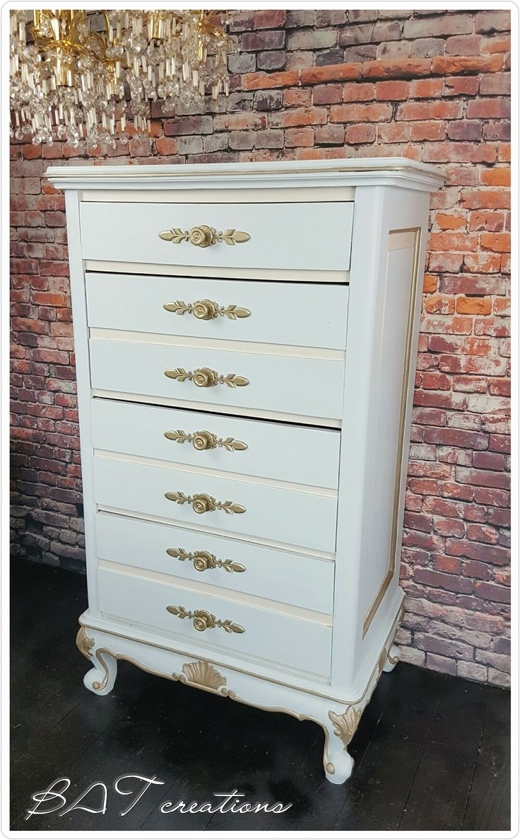 French lingerie chest of drawers