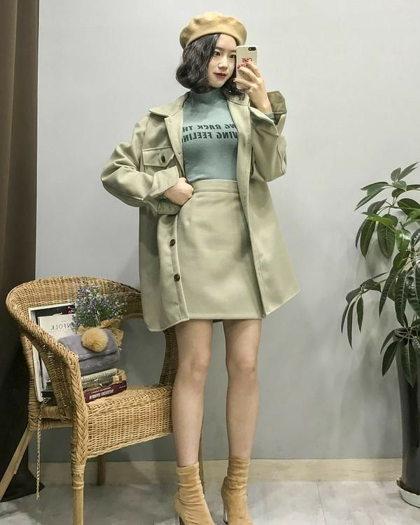 Girl Classy Outfits Ideas Stylish Autumn 2020 Sweet Korean Fashion Tiktok School Korean Fashion Trends Korean Fashion Fashion