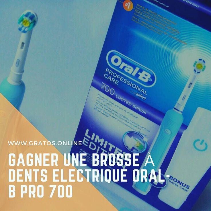 Gagner une Brosse à Dents Électrique Oral-B PRO 700 #dentist #dentista #dentistry #dentiste #oralb #colgate #crust #dent #dentalassistant