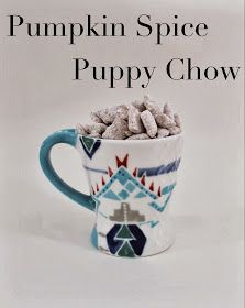 radical possibility: Pumpkin Spice Puppy Chow - Made with Cookie Butter!