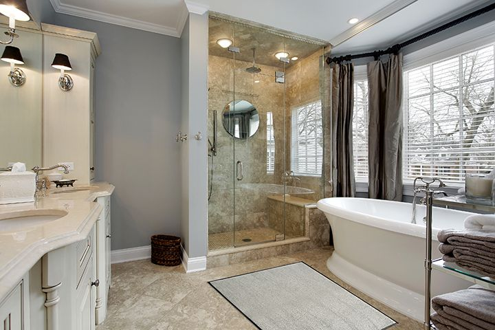 Bath Mat | Neutral Bath Mat | Studio 67 Floor Mat | Non-Skid Floor Mat | Bathroom Floor Mat | Floor Mats for the Home