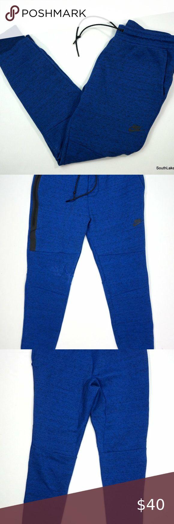 Nike Tech Fleece Blue Jogger Sweatpants Large Men's Nike