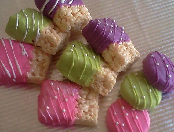 Etsy listing at https://www.etsy.com/listing/231073358/chocolate-covered-rice-krispies-treats