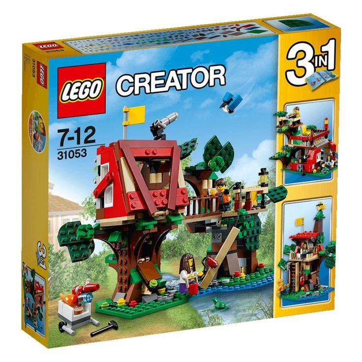 Conheça o sensacional Lego Creator - Aventuras na Casa da Árvore,  um incrível conjunto Lego que que vai conquistar a garotada. A casa é espetacular, rica em detalhes e muito colorida, será o ambiente perfeito para a criação de muitas historinhas animadas. Além disso, também é possível criar dois outros modelos de casa levando a imaginação para um outro patamar e permitindo as crianças criarem uma nova aventura a cada brincadeira. Lego Creator é um brinquedo impecável que vai proporcionar…
