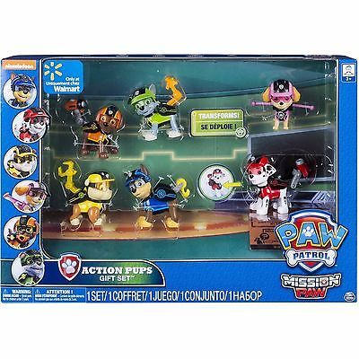 Paw Patrol Mission Paw Action Pack Pups Gift Set Action figure Set NEW