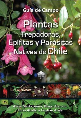 Plantas trepadoras, epífitas y parásitas Nativas e Chile.  http://www.corma.cl/_file/material/guia_campo_trepadoras.pdf