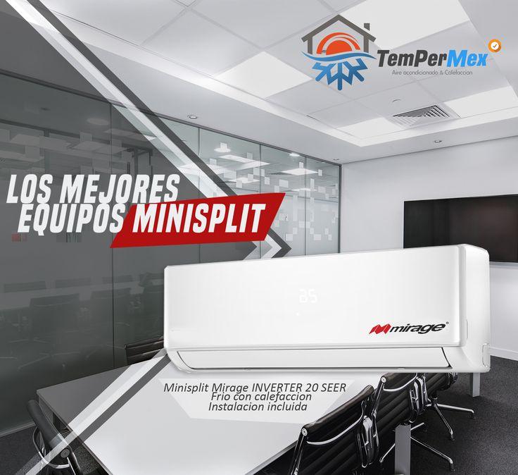 Venta e Instalación Aire acondicionado, Mantenimiento y Reparacion Minisplit Aire central , Refacciones