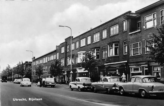 De Rijnlaan te Utrecht 1960-1970