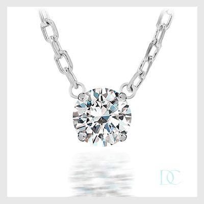 pendentif i love you – or blanc et diamants