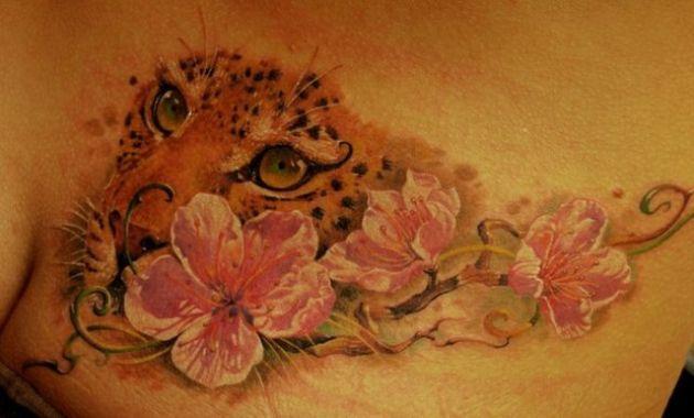 Leopard Tattoo / Flower Tattoo - Best Tattoos Ever - Tattoo by Dmitriy Samohin - 07