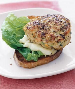 Turkey Burgers With Grated Zucchini and Carrot | RealSimple.com