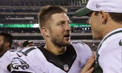 Eagles cut Tim Tebow -   Posted by Michael David Smith on September 5, 2015,