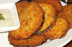 YUM: Batter Fried Eggplant: Marcus Samuelsson Photo: penguincakes