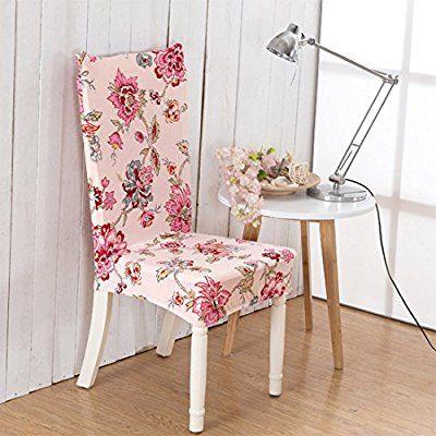 zhihong elástico cuadrado extraíble lavable corto sillas cubiertas Protector funda para asiento para boda fiesta restaurante banquete cubierta de la silla de comedor de decoración para el hogar