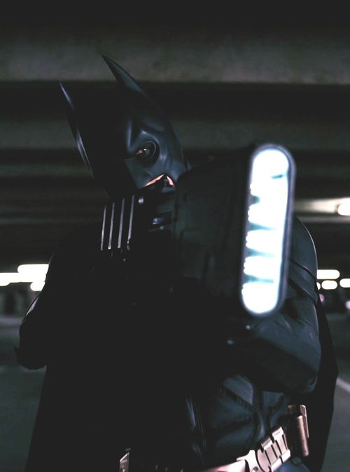TDKR: Christian Bale as Batman