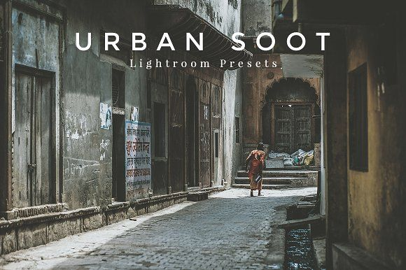 Urban Soot Lightroom Presets by Presets Galore on @creativemarket