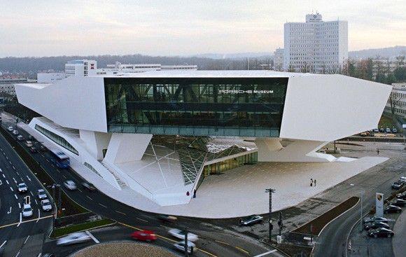 First Look: New Porsche Museum in Stuttgart - Autoblog