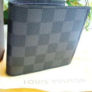 ルイ・ヴィトンコピー 新品ルイヴィトンダミエグラフィットマルコ2つ折財布N62664 ブランドコピー スーパーコピー 財布コピー