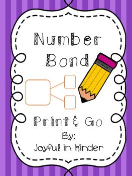 A few pages to practice number bonds 2-5. Includes 2 blank number bond…