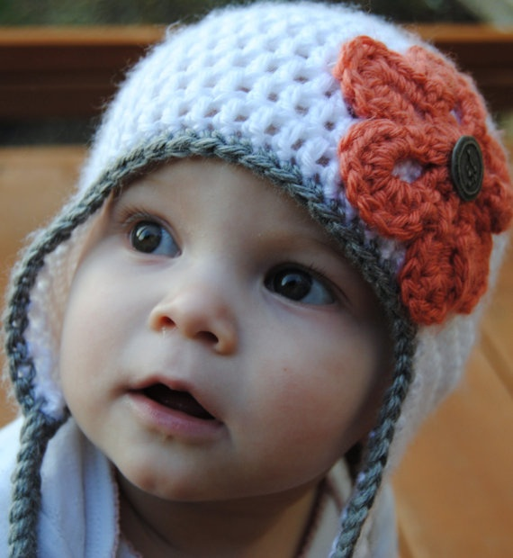 5T to Preteen Earflap Hat for $20.00 at etsy.com