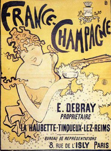 Пьер Боннар - Французское шампанское 1891