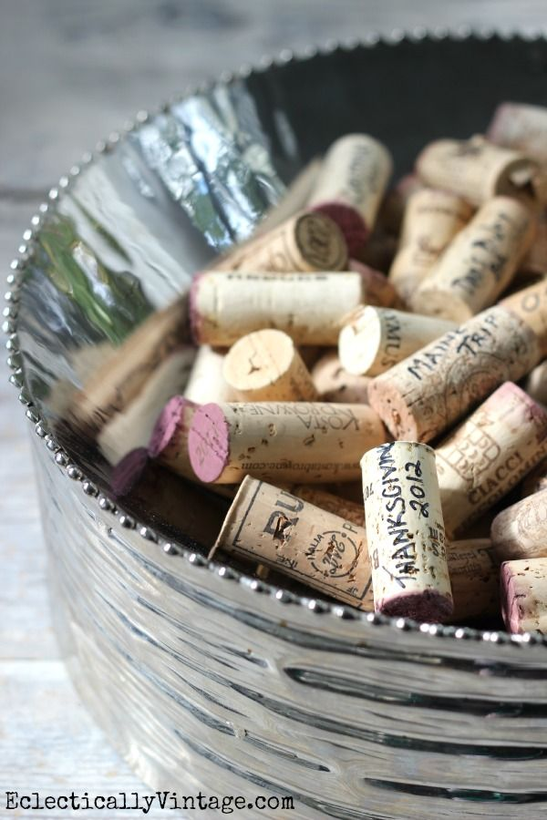 Write Date & Occasion on Corks - instant memories!