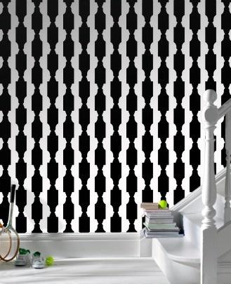 Reflection: Black & White wallpaper by