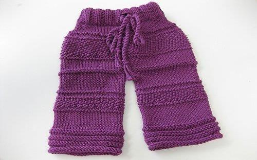 Штаны спицами для детей