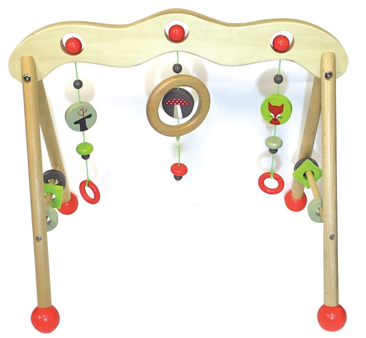 Beautiful wooden play gym! www.discoveroo.com